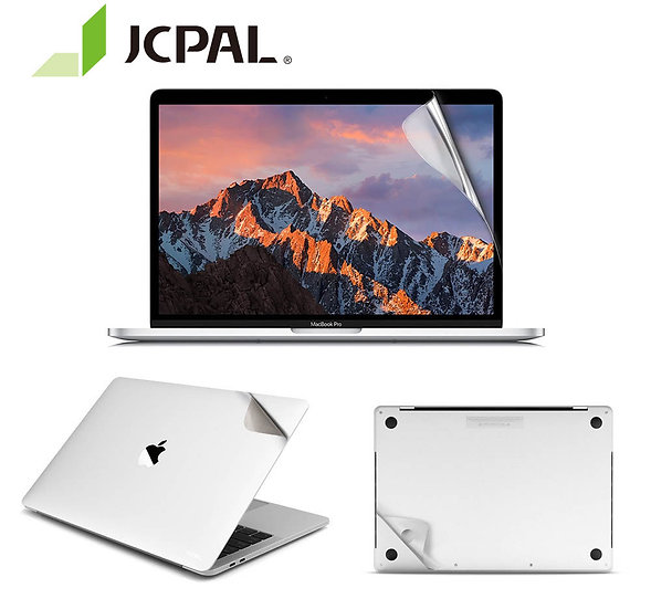 JCPAL ฟิลม์กันรอยตัวเครื่อง MacGuard 5 in 1 set