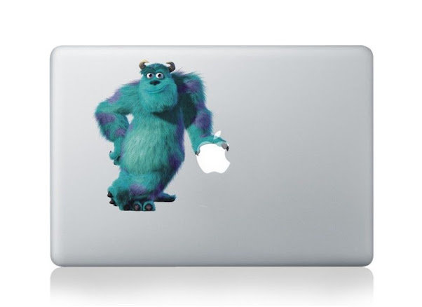 สติ๊กเกอร์ Apple Macbook Decal - Sticker Monster Inc
