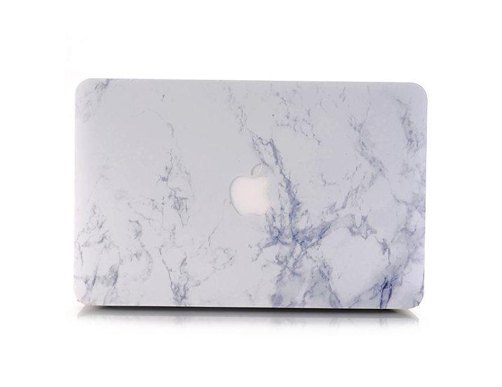 เคส Macbook ลายหินอ่อน White Marble Tree เจาะโลโก้