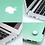 Thumbnail: เคส Macbook สีเขียวมินท์ ผิวด้าน เจาะโลโก้