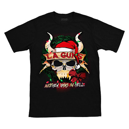 """Limited Edition - """"Another Christmas in Hell"""" album men's tee"""