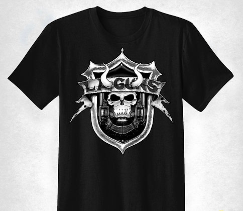 "Black and White ""The Devil You Know"" Men's T-Shirt"