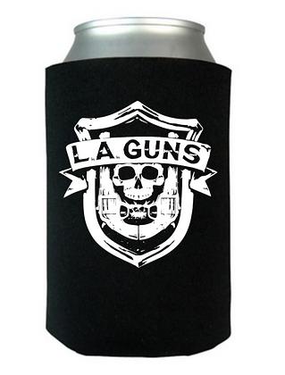 L.A. Guns Classic Shield Can Koozie