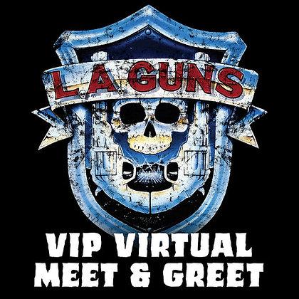 03/13/2021 - VIP Virtual Backstage Pass: A Live Conversation with L.A. Guns