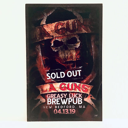Event Poster - Greasy Luck Brewpub  - 4/13/2019