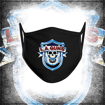 L.A. Guns Color OG '88 Shield Logo Non-surgical Face Mask/Covering
