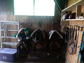 Tack Room before
