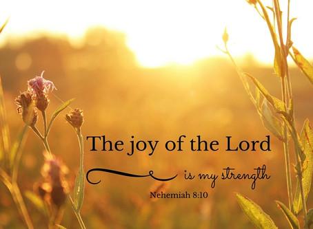 I've got the joy, joy, joy, joy, down in my heart...