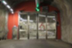 Vikport rostfritt syrafast stål brandhämmande konstruktion
