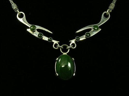 X-Necklace, Jade