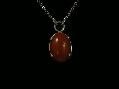 Red Jasper Pendent 18 by 22mm Gemstone