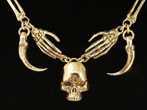 Skull and Bone Necklace