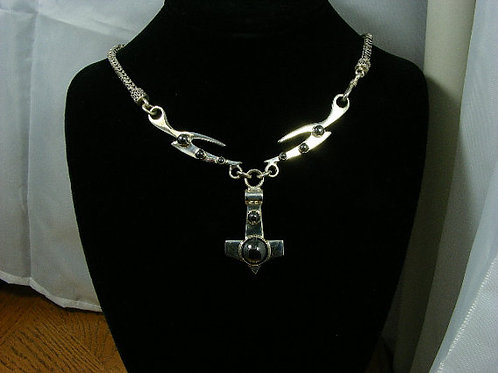 Thor's Hammer X-Necklace