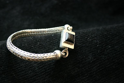 Byzantine Chain with Custom Box Clasp