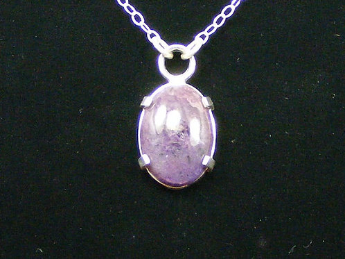 Charoite Pendant 18 by 22mm Gemstone