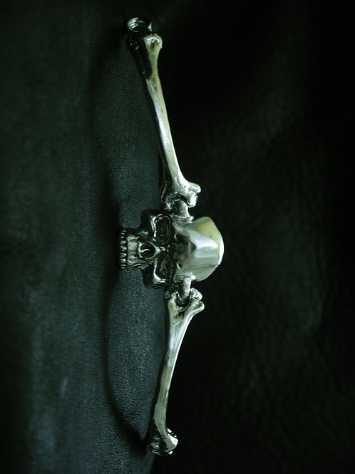 Arm Bone Bracelet with Skull Face