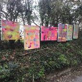 Outside Art Exhibition