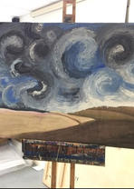 Landscape Painting by Olivia Flann