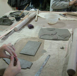 In the Pottery