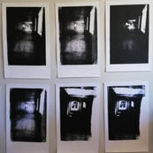 Elevator Shaft screen prints by Fronde Crennell (pt2)