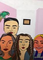 Family Collage by Ksenija Kudravceva