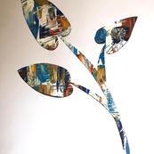 Texture through Stencil by Sophie Webber (ft)