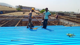 roofing sheet fitting