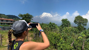 How did I just run a marathon on the Annapurna mountains in Nepal?