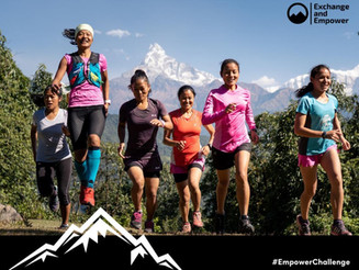 Join the Empower Challenge and sponsor a new generation of Nepalese female athletes!