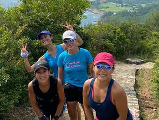The Road Divas' Round the Island Run