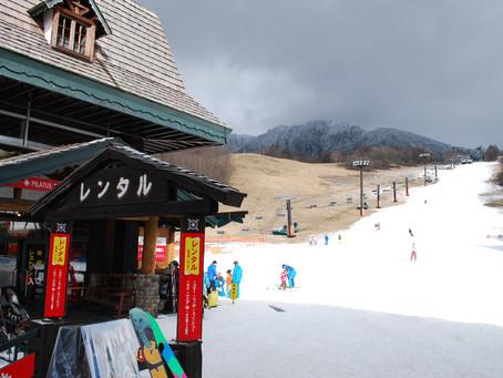 スキー場がオープンしました!