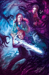 Book Cover: Somwhere In-Between: Fighting the Darkness