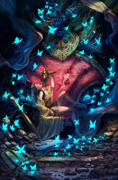 World of Evendaar: Book 5 Cover Illustration