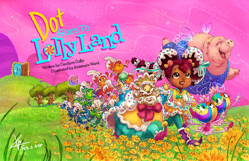 Dot Goes to Lolly Land Poster