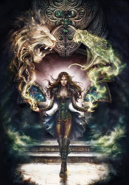 The World of Evendaar: Book Three Cover Illustration