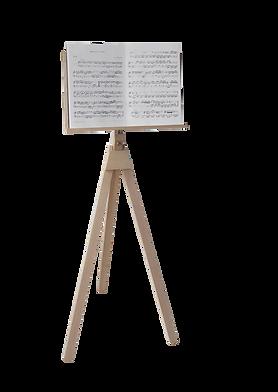 Notenständer der Musikschule Kechter in Traunreut