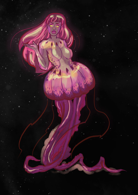 Final Jellyfish Woman