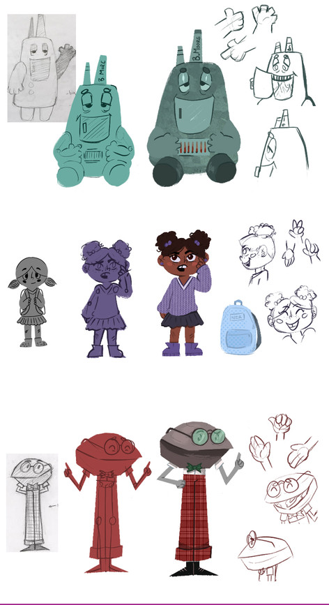 Childrens Book Character Designs