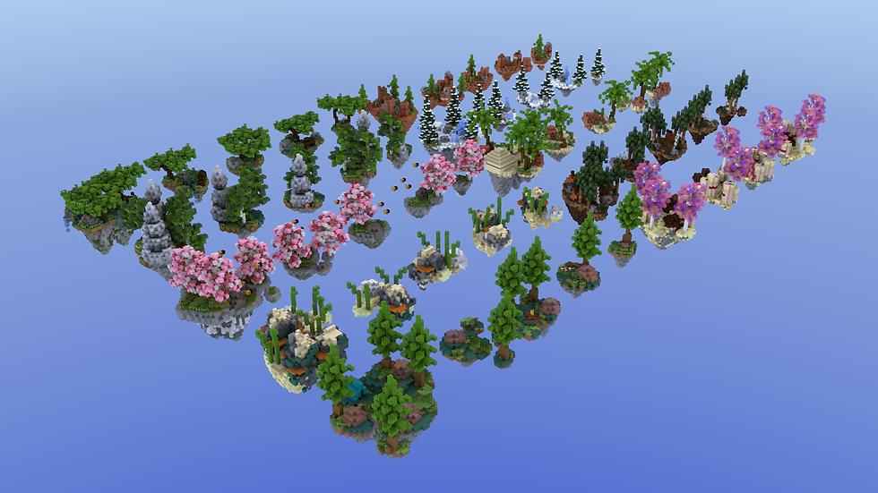 x50 Skyblock Islands