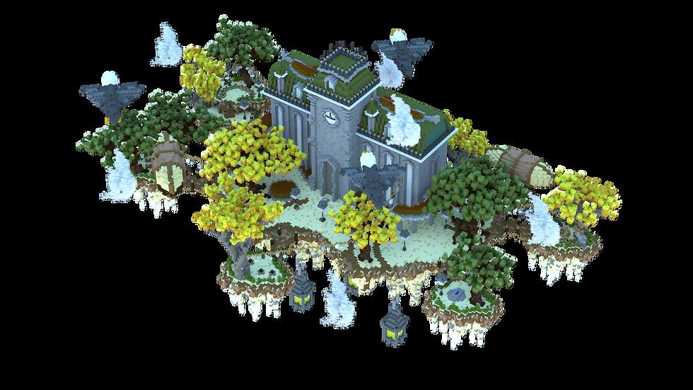 Tropical Floating Island