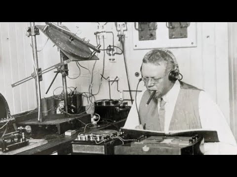 Reginald Fessenden - the first voice over on radio in 1900 and 1906