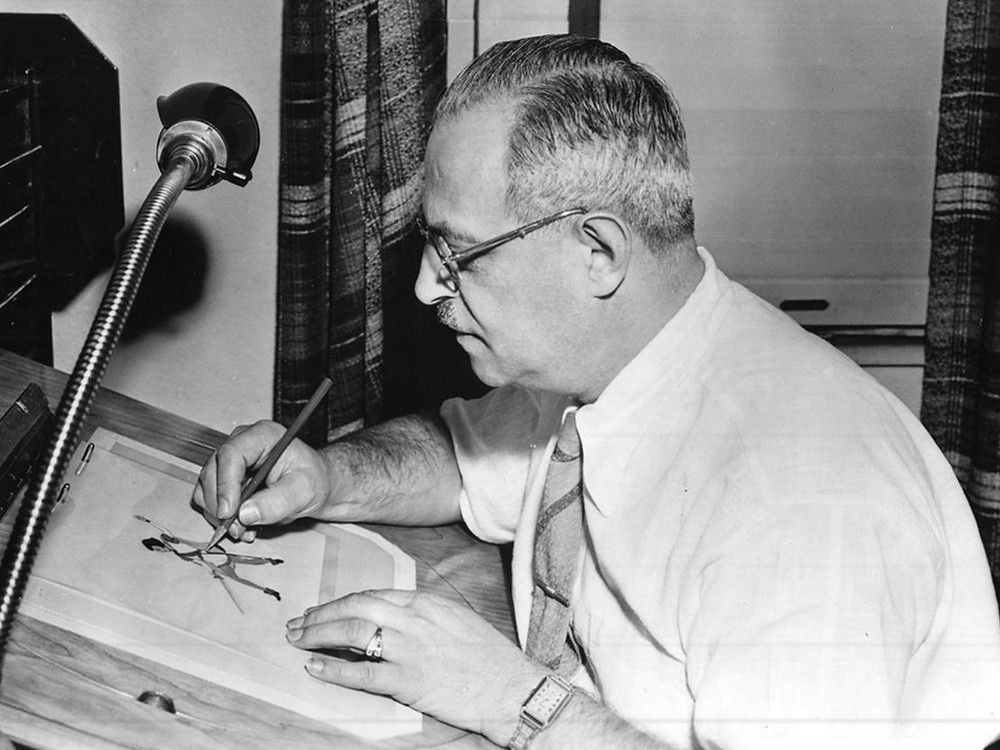 Max Fleischer was the animator and originator of bringing voice over and sound synchronization to animation