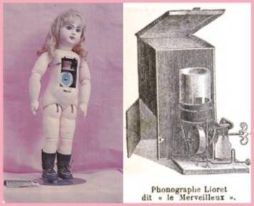 Henri Lioret's talking toys, Bebe Jumeau and Le Merveilleux