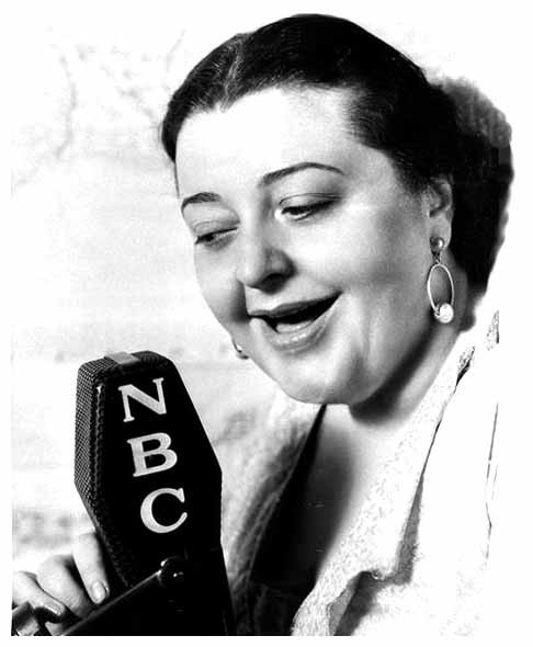 Vaugn de Leath was the original radio girl and the first female voice over on the radio