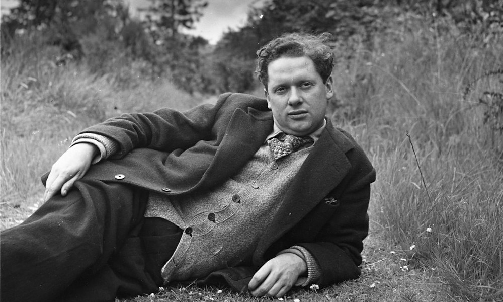 Dylan Thomas, the welsh poet, was the first voice to record an audiobook for Caedmon Records