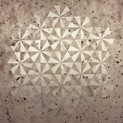 geometric paper-cut