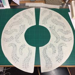 paper-cut leaves