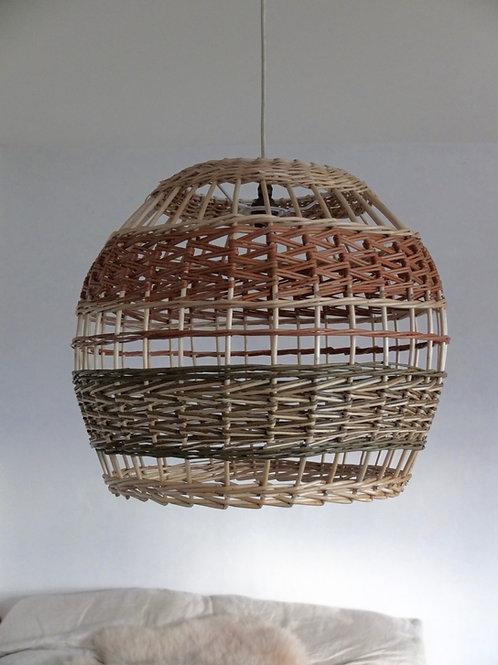 Woven willow lampshade -Medium