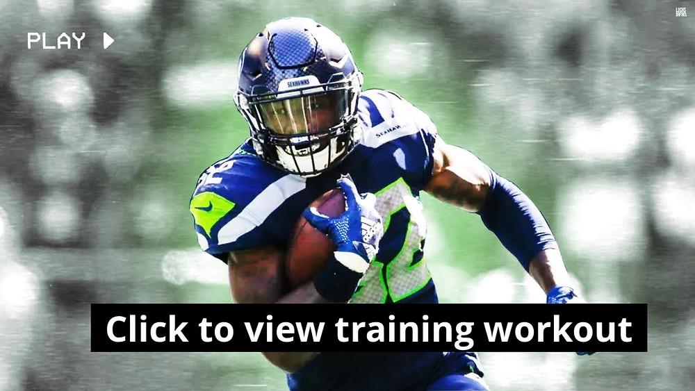 Brad Lester Running Back Training