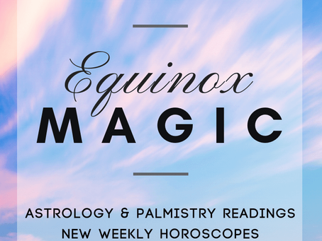 Astrology & Palmistry Readings, Horoscopes, and a Giveaway!
